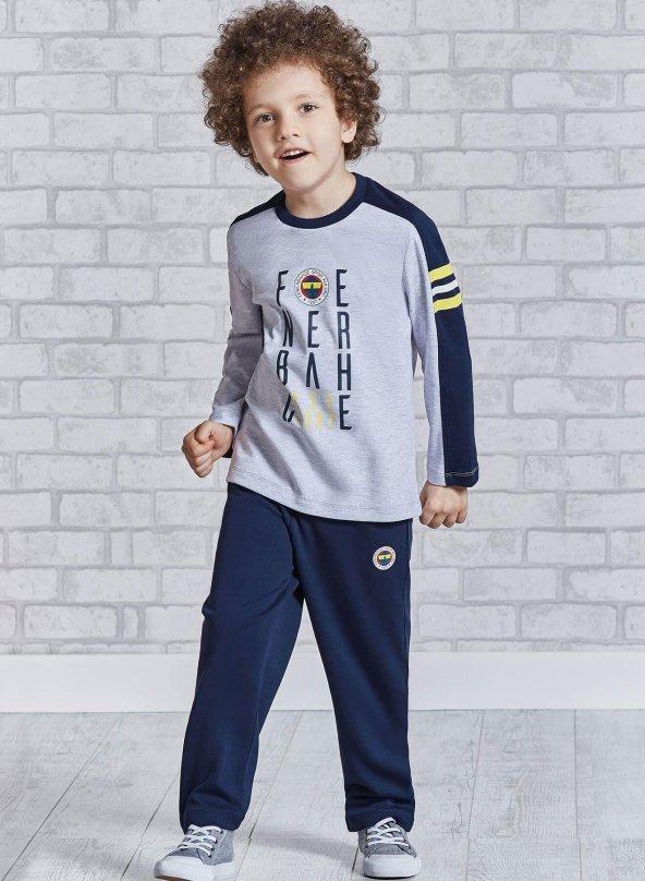 Roly Polly 9309 Lisansı Fenerbahçe Garson Boy Pijama Takımı
