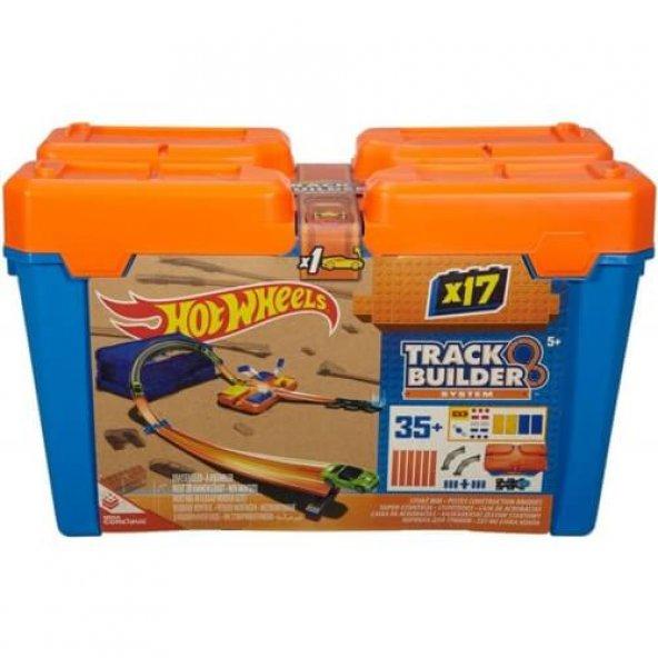 Hot Wheels Track Builder Bloklu Başlangıç Paketi Oyun Seti