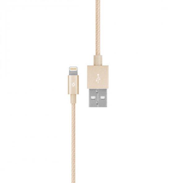 Ttec AlumiCable™ - MFi Lightning - USB Şarj/Senkronizasyon Kablosu,Altın