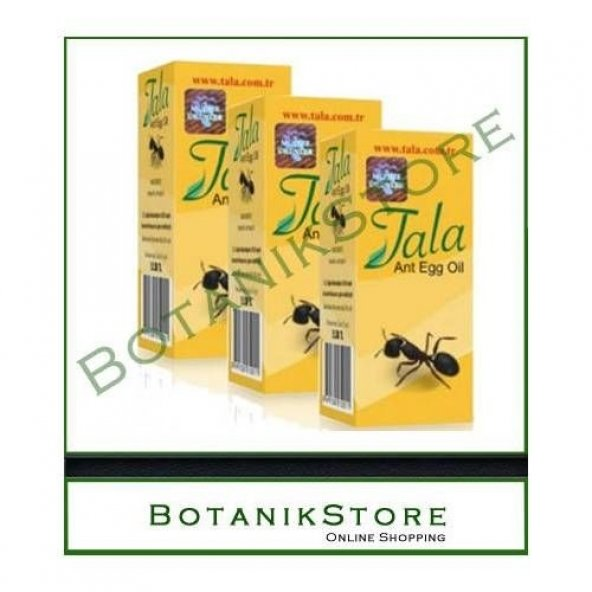 3 ADET Tala Karınca Yumurtası Yağı 20 ml