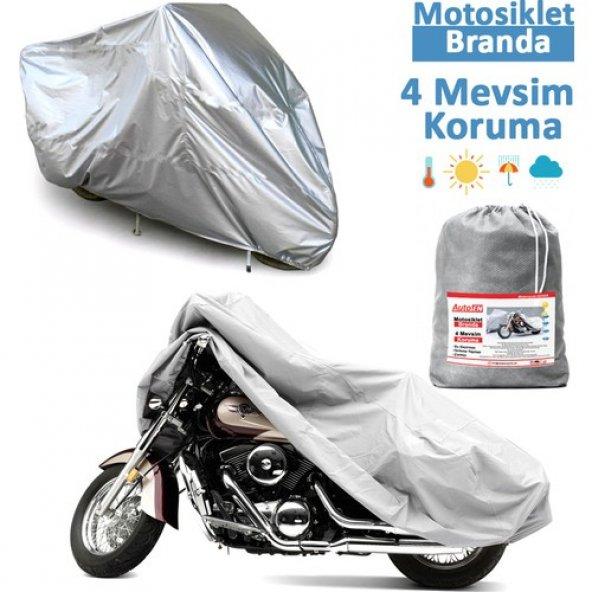 Ramzey QM 200 GY Örtü,Motosiklet Branda 020C372
