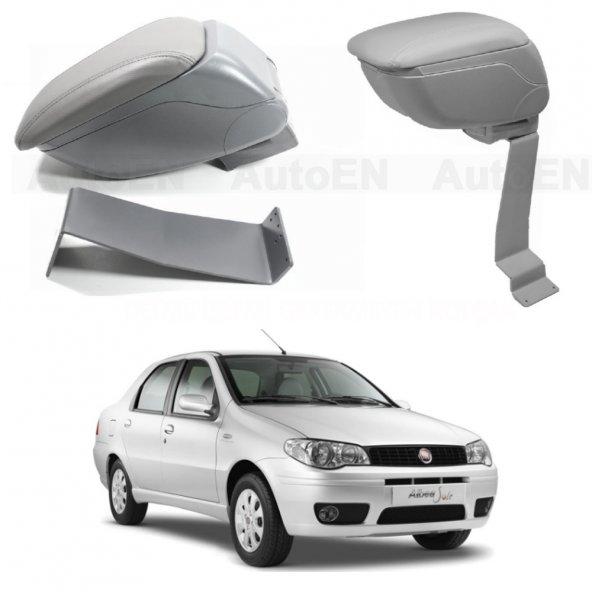 Fiat Albea 2005-2012 Delmesiz Çelik Ayaklı GRİ Sürgülü Kolçak 8014363