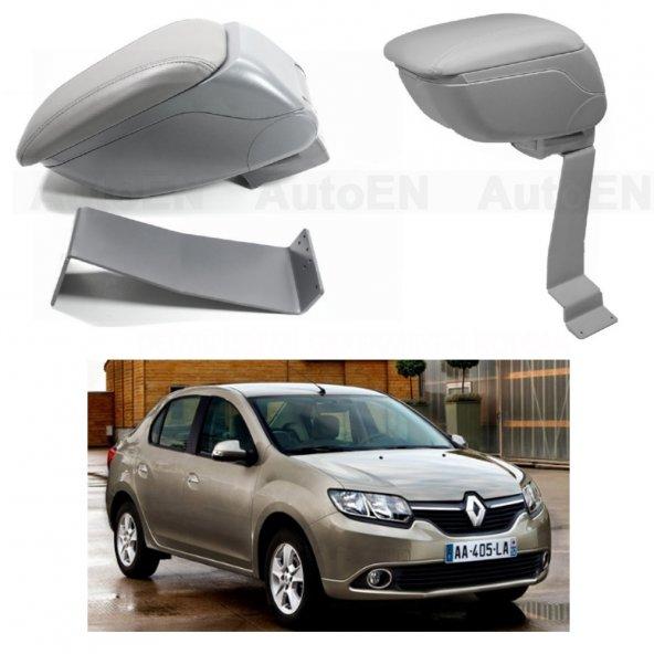 Renault Symbol 3 Sedan 2013 > Delmesiz Çelik Ayaklı GRİ Sürgülü Kolçak 8014377