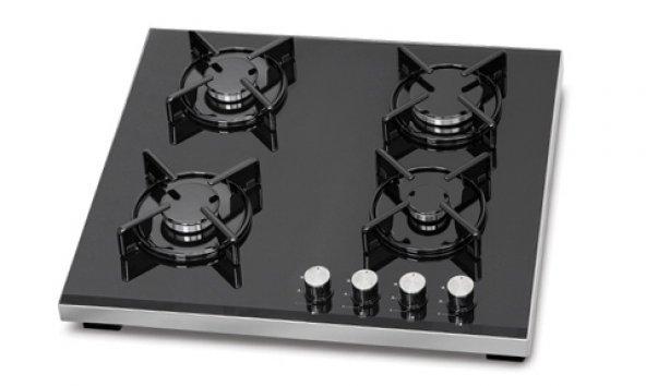 Simfer 3031 Set Üstü Siyah Cam Ocak