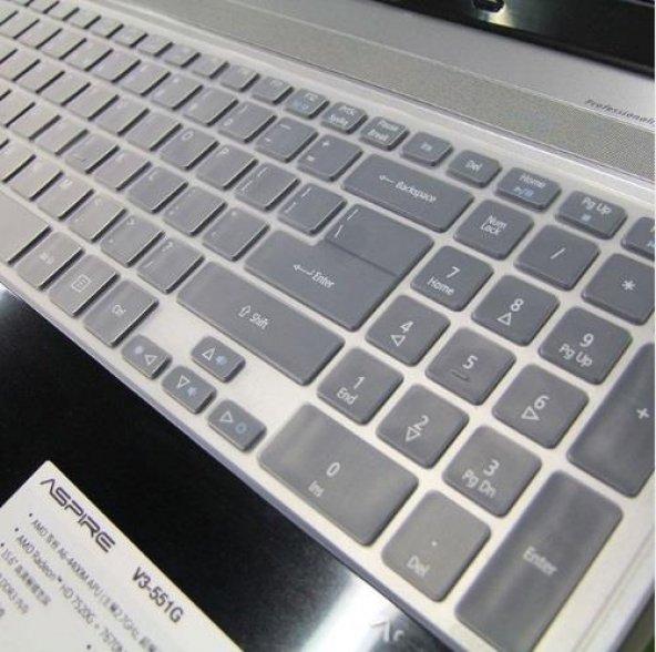 Asus F50 Silikon Klavye Koruyucu Kılıf
