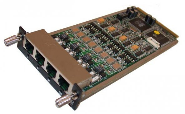 AudioCodes Mediant 1000 4 FXO Modülü - 1 Yıllık CHAMPS dahil