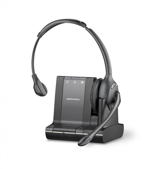 Plantronics W710 DECT Kablosuz Kulaklık: PC+mobil telefon+masa telefonu Kulaklık