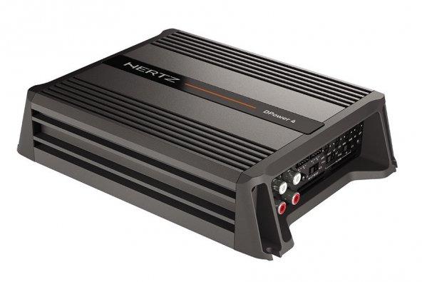 Hertz DPower 4 D Sınıf Dört CH Amplifikatörü
