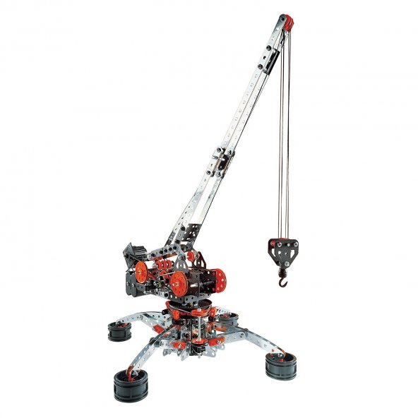 Meccano Super Construction Set, 25 Motorized Model Building Set