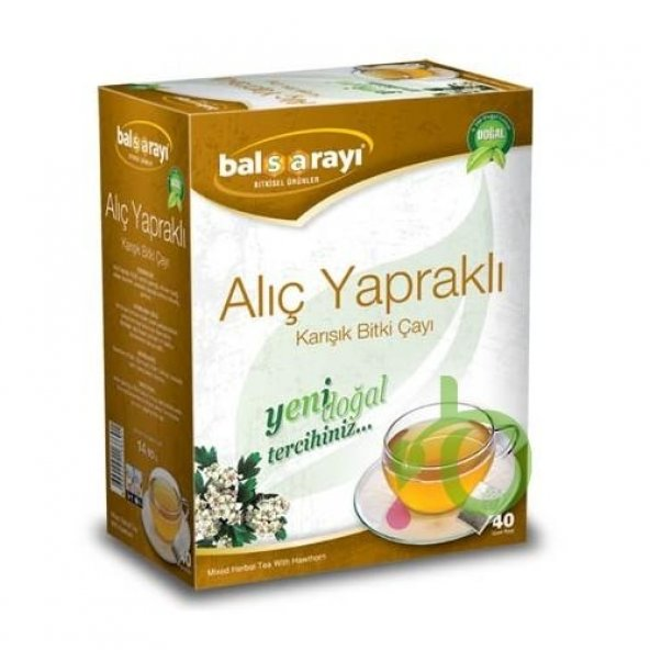 alıç yapraklı karışık bitki çayı 40 lı BALSARAYI