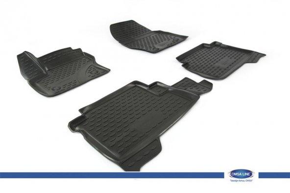 Ford Kuga 2 3D Novline Havuz Paspas Siyah 4 Prç 2013 ve Sonrası