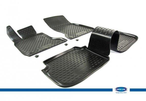 BMW 7 Serisi 3D Novline Havuz Paspas Siyah 4 Prç 2009-2015 SD