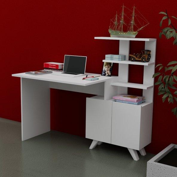 ALLEGRO Çalışma Masası Beyaz Beyaz