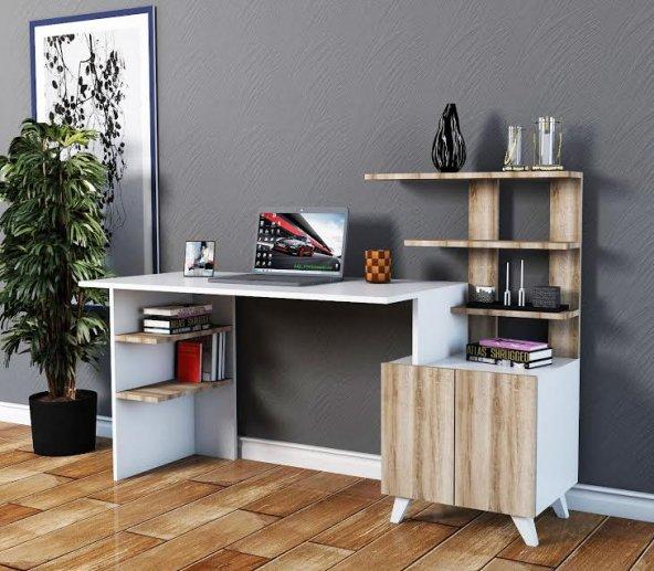ALLEGRO XL Çalışma Masası Beyaz Sakremento