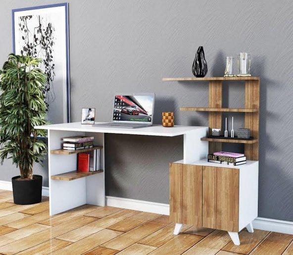 ALLEGRO XL Çalışma Masası Beyaz ceviz