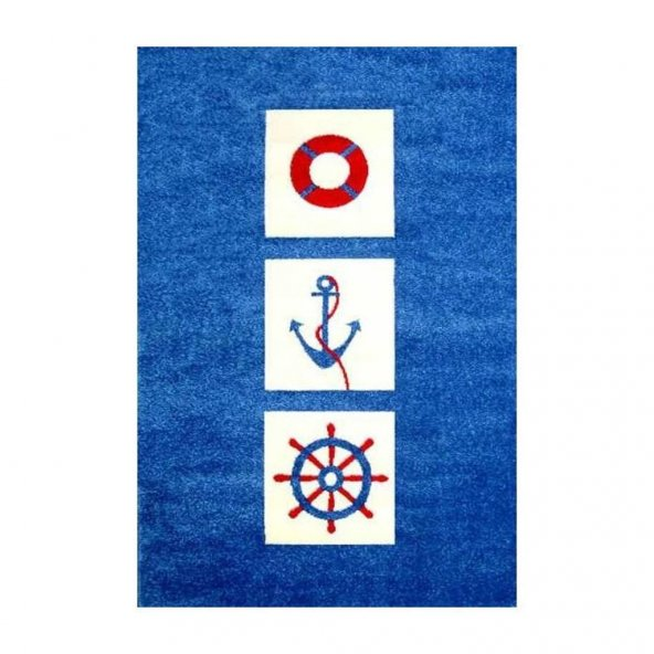İvi Çocuk Odası Oyun Halısı Denizci 134x180