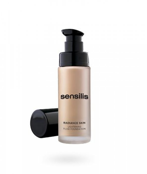 Sensilis Radiance Skin Lightening Fluid Foundation Spf 15 30 ml-0