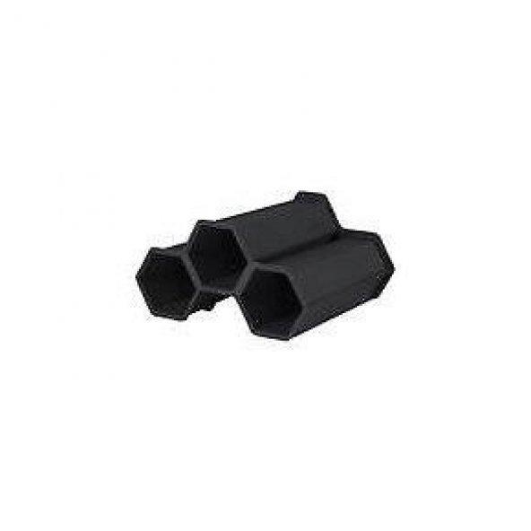 Eda Opticave Mini Cellar Şişe Rafı Modülü 3lü Antrasit