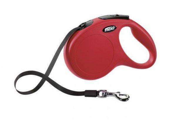 Flexi 5 Metre Kırmızı Medium Köpek Kayışı Gezdirme Tasması