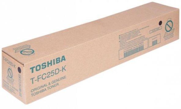 TOSHIBA T-FC25D-K 2040C/2540C/3040C/3540C/4540C SİYAH TONER ORJ