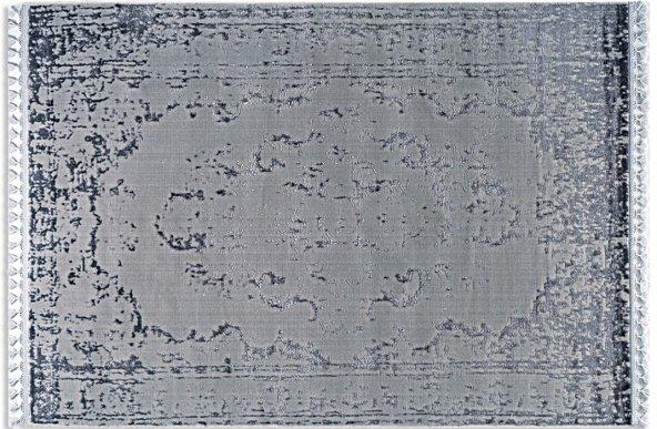 Tuğra Hali Saten 02 Gri  133x190 cm