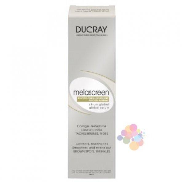 Ducray Melascreen Photo-Aging Global Serum 30 ml (Güneş Kaynaklı Yaşlanma ve Leke Karşıtı Serum)