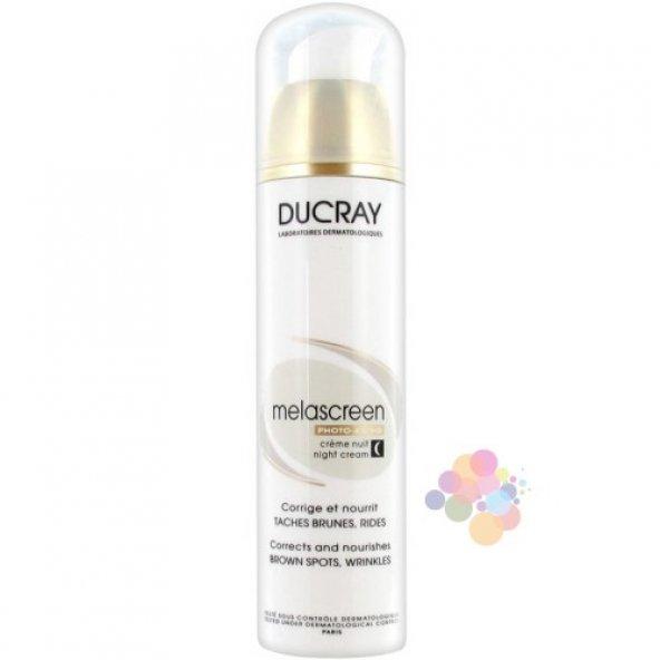 Ducray Melascreen Photo-Aging Gece Kremi (Güneş Kaynaklı Yaşlanma ve Leke Karşıtı Gece Kremi)