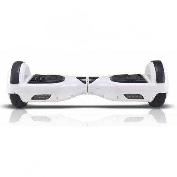 Elektrikli Kaykay Beyaz Hoverboard Smart Balance Scooter