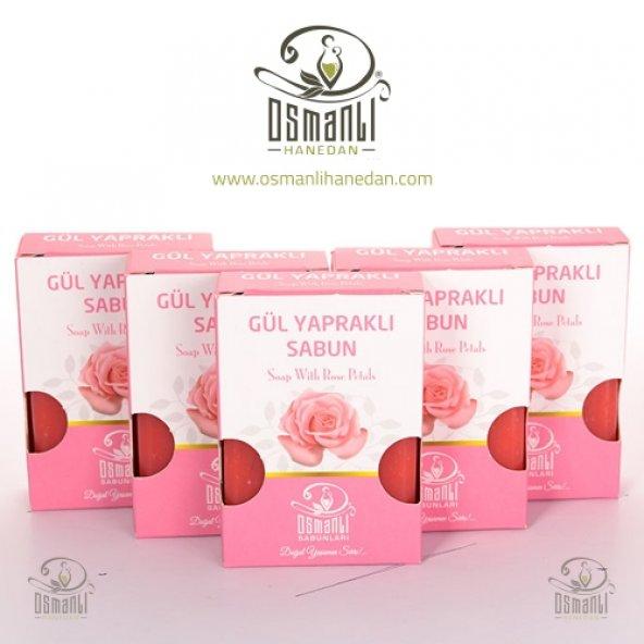 5 Adet Osmanlı Sabunları Gül Sabunu 100gr