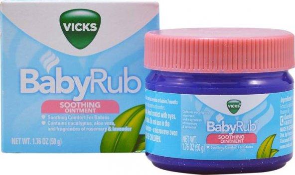 Vicks BabyRub 50 g SKT : 07/2019