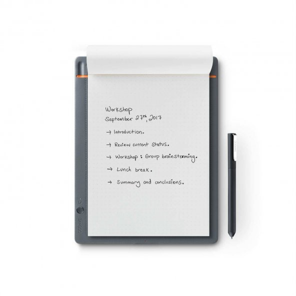 Wacom Bamboo Slate Smartpad Digital Notebook, Small