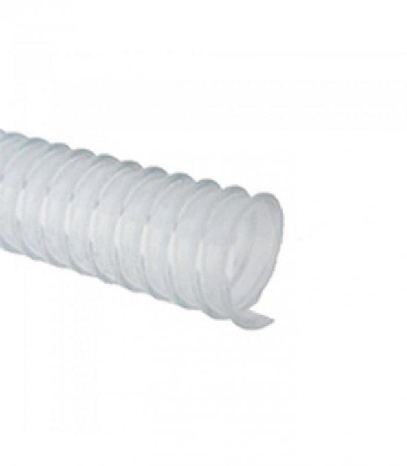 Sertsan 5/8 LLS Şeffaf Spiralli Hortum 1 Metre