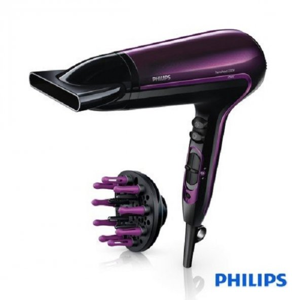 Philips Thermoprotect HP8233/00 2200W İyonik Saç Kurutma Makinesi Vigo Başlık ile