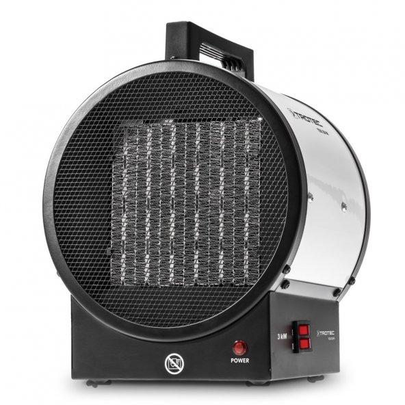 Fanlı Seramik Isıtıcı 3 KW - 2600 kcal   Monofaze- Trotec  TDS 20 M