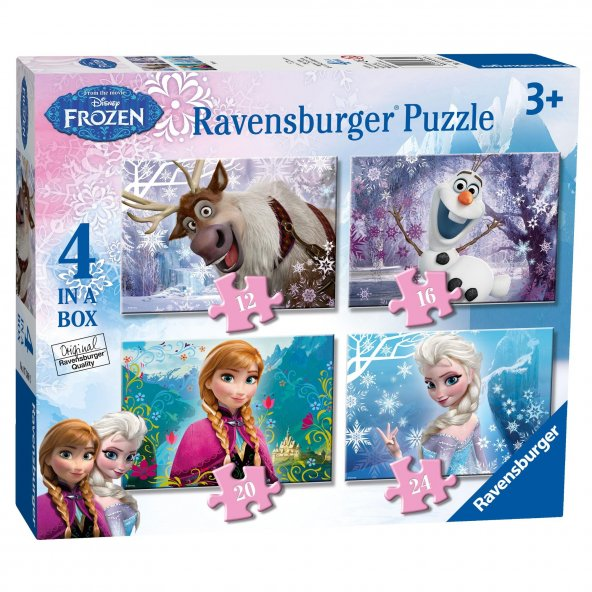 Ravensburger 4 İn A Box Puzzle - Wd Frozen
