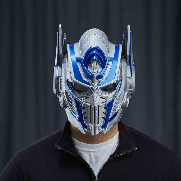 Transformers Optimus Prime Ses Dönüştürücü Maske Başlık