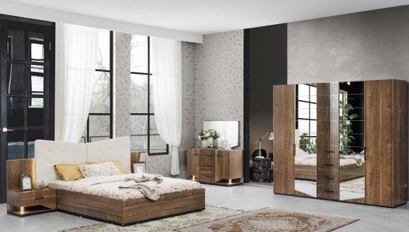 Foreza Ceviz Yatak Odası