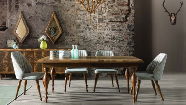 Batik Ceviz Yemek Odası