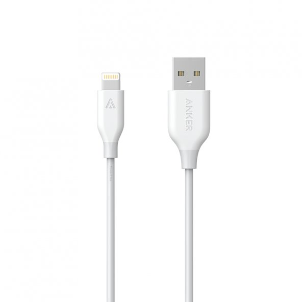 ANKER PowerLine Lightning Kablo 0.9m MFI Lisanslı BEYAZ