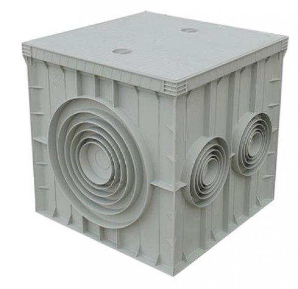 40x40cm PLASTİK RÖGAR ( Logar , Menhol ) KUTUSU