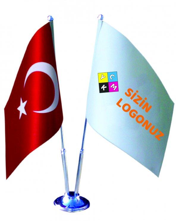 2 li Masa Bayrağı takımı