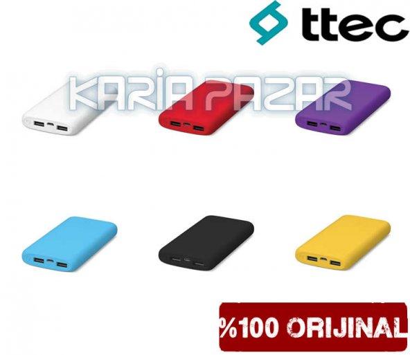 Ttec PowerSlim 5.000mAh Taşınabilir Powerbank 5.000mAh