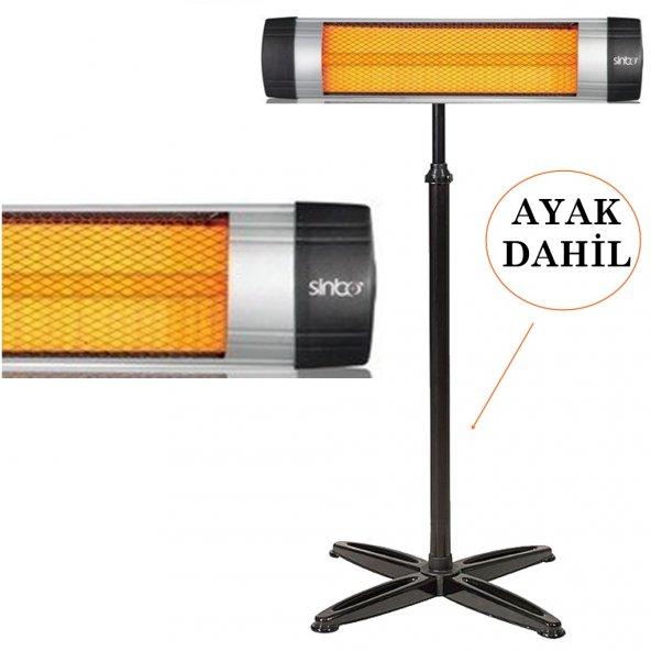 Sinbo exclusive 2500w elektrikli ısıtıcı elektrikli soba AYAKLI