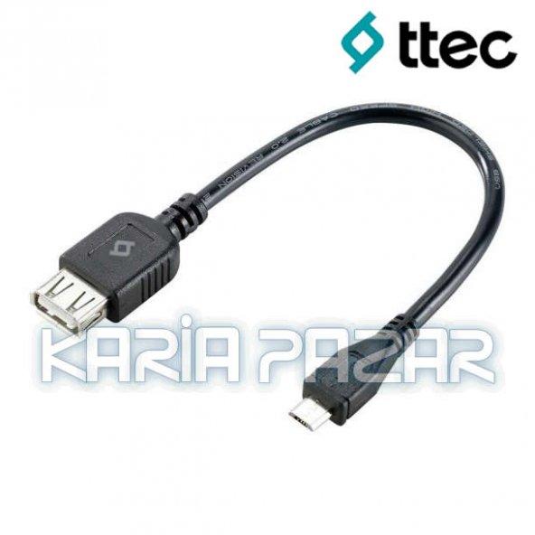 TTec Micro USB OTG Kablo 15 CM