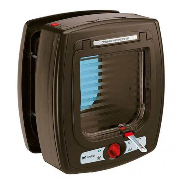 Ferplast Swing Microchip Kahverengi Otomatik Kedi Kapısı