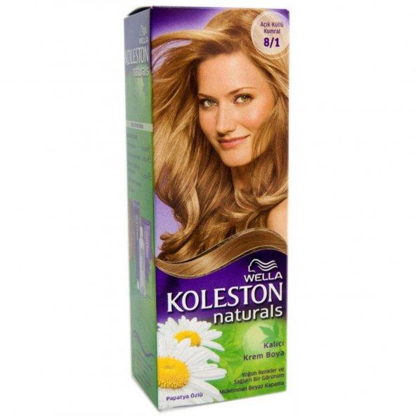Koleston Naturals Saç Boyası 8-1