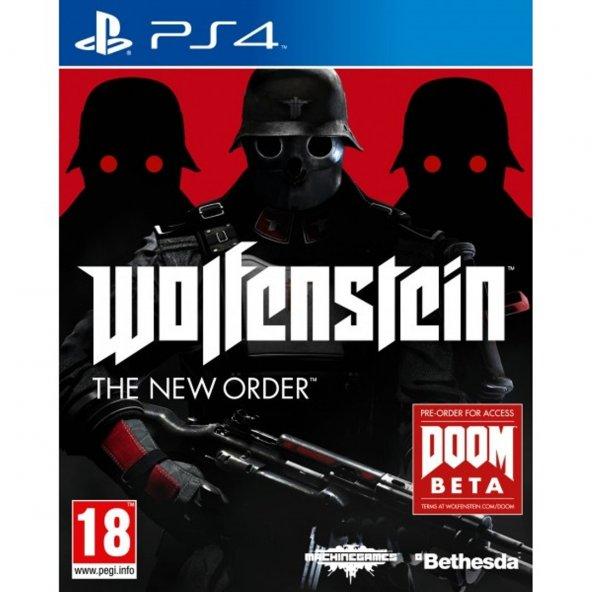 Wolfenstein The Tew Order PS4 WOLFENSTEIN Playstation 4