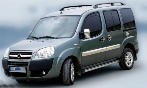 Fiat doblo ayna kapağı krom nikelaj 2001-2009