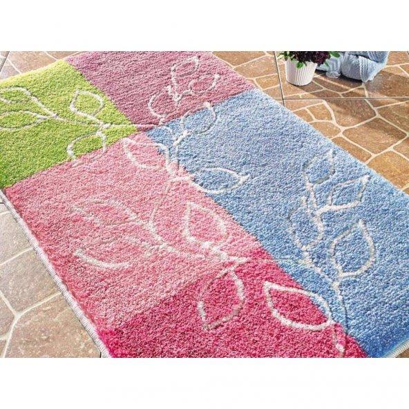 Lagina Bebe Pembe 60x100 Confetti Banyo Halısı