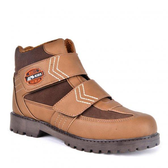 MP 172-5283 Cırtlı Erkek Çocuk Termal Kışlık Bot Ayakkabı